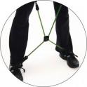 X dirželis (Gymstick pratimų lazdos gumų sujungimui)