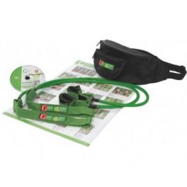 Gymstick elastinis treniruoklis prie šiaurietiško ėjimo lazdų (NW Gym), mažo pasipriešinimo