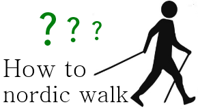 How to nordic walk? Nordic walking technique.